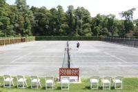 tennis matches open courts