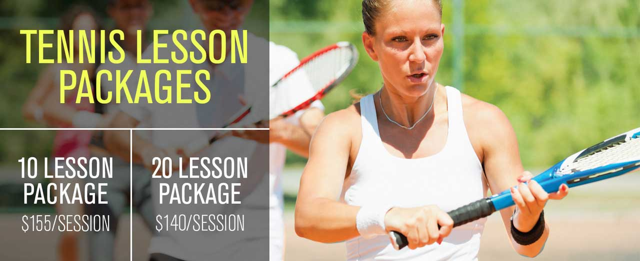tennis lesson packages