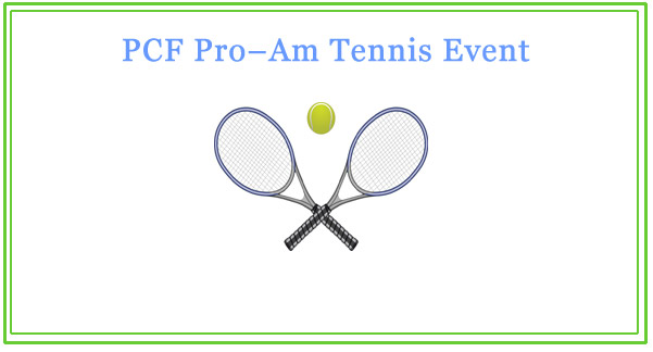 PCF pro-am tennis event